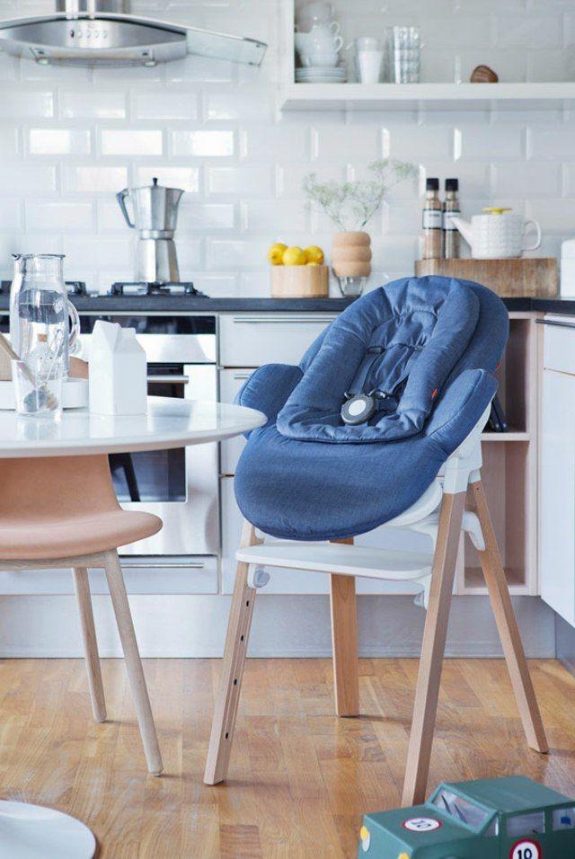 chaise haute bébé design pratique stokke