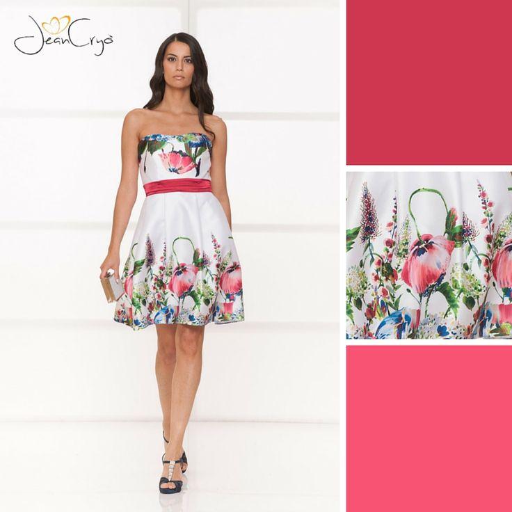#Chic e delicato questo #minidress con gonna a ruota...  Che ne pensate dell'accostamento di questi colori? A noi sembra un incanto  #Newcollection #collection2016 #color #beautiful #glam  Un abito davvero #Petaloso :-D