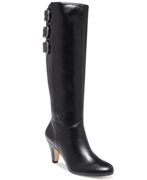Bella Vita Transit Ii Tall Dress Boots - Black 8.5WW