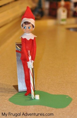 7 Fun Silly Elf on the Shelf Ideas {In 15 Minutes or Less}