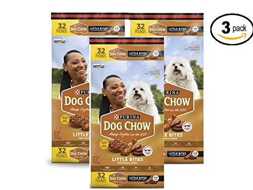 Purina Dog Chow Little Bites Real Chicken And Beef Adult Dry Dog Food 32 Lb Bag Pack Of 3 Many Thanks For Having Viewed Our Picture Th With Images Purina Dog Chow