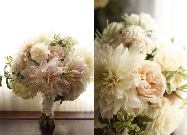 Honey and Poppies: Gardens Roses, Cafe Au, Bridal Bouquets, Blushes Pink, Flower Bouquets, Woods Flower, Dahlias Bouquets, Soft Color, Pretty Flower