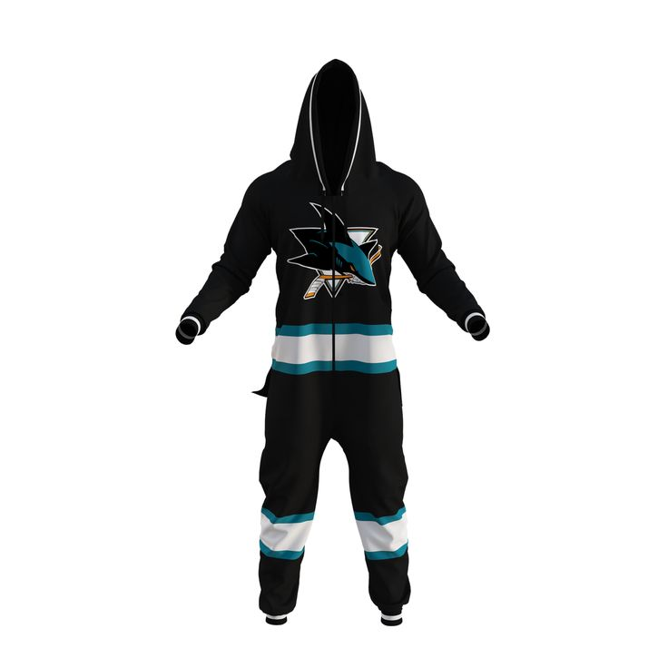 NHL Onesie - San Jose Sharks - Hockey Sockey