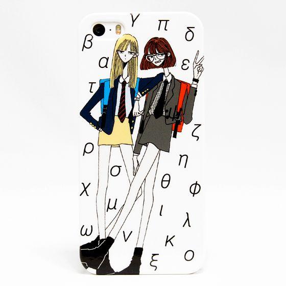 黒川ナイス iPhone5/5Sケース「アフタースクール」