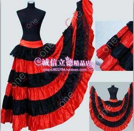Испанская юбка фото