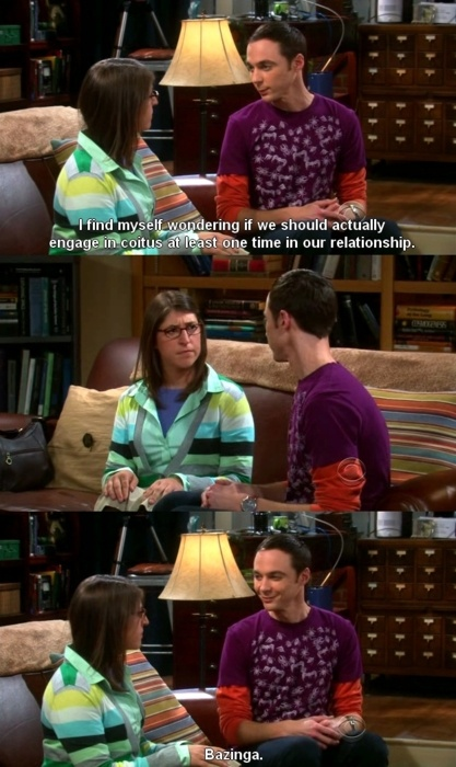 big bang theory =)