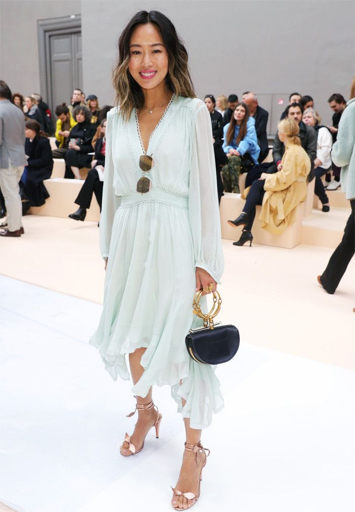 The front row at Paris Fashion Week this February is as starry as ever, with Alexa Chung, Solange Knowles, Olivia Palermo and more attending the shows...