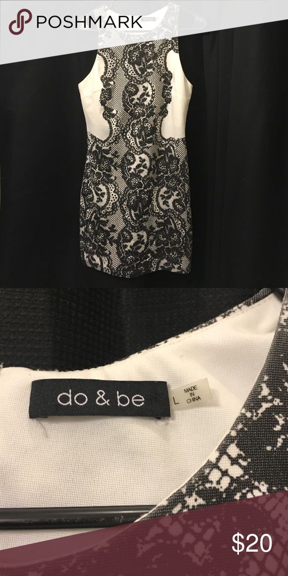 Sexy black and white dress! A vey sexy black and white dress for any occasion! Dresses Mini