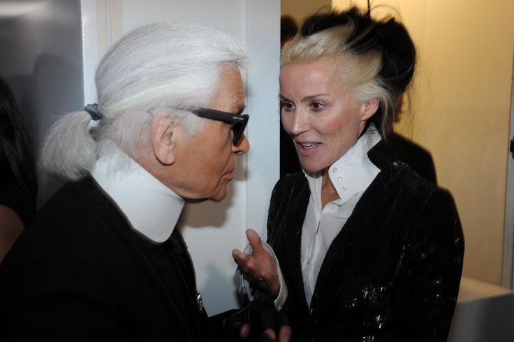 Mr. Karl Lagerfeld and Mrs. Daphne Guinness: Guinness Icon, Daphne Guinness, Celebrities People Royalty, Fashion Icons, Fashion Styles, Style Icons, Divine Daphne, Karl Lagerfeld