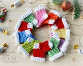 Crochet Pattern - Crochet Christmas Stocking Ornaments (Pattern No. 013) - INSTANT DIGITAL DOWNLOAD