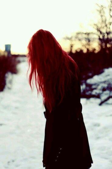 tumblr charla cabello rojo