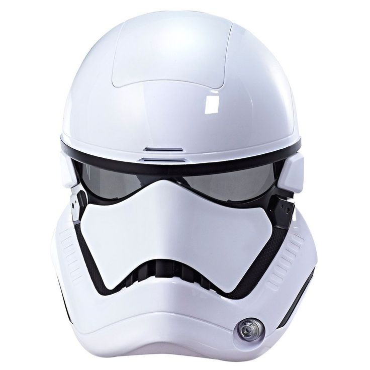 Star Wars: Episode Viii The Last Jedi First Order Stormtrooper Electronic Mask with Voice Amplifier, Kids Unisex, Multicolor