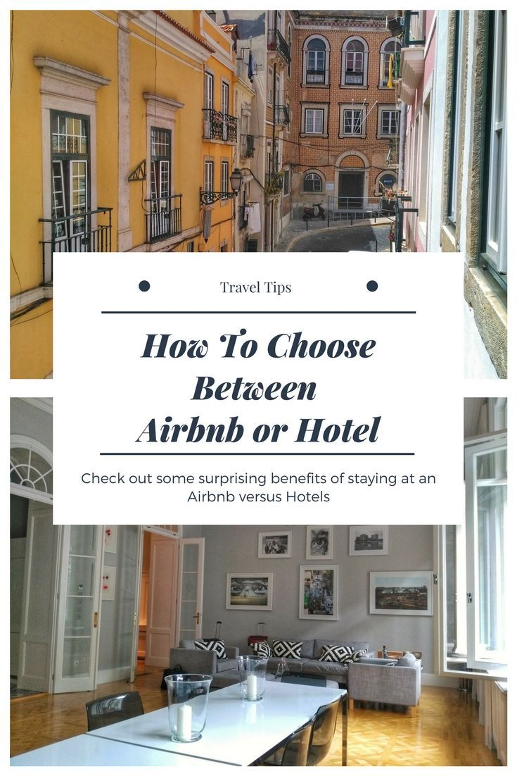 Airbnb Tips: Traveling deciding between Airbnb and hotel. Here's how to know which works best for you as a guest. What to look for when renting and Airbnb and the benefits. Apartments with Airbnb can help keep travel costs down and make your trips more budget friendly, see the details here: https://togethertowherever.com/airbnb-or-hotel-things-know-about-for-first-timers/