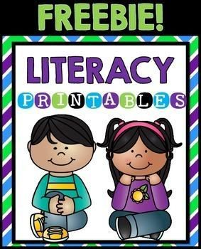 Literacy Worksheets FREEBIE Early Finishers, Centers, Seat Work | by Teaching Second Grade