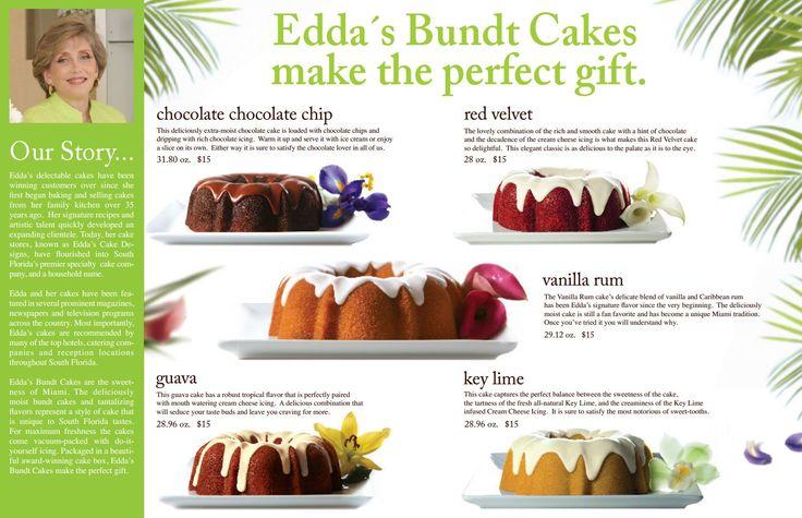 Eddas Bundt Cakes Fundraising