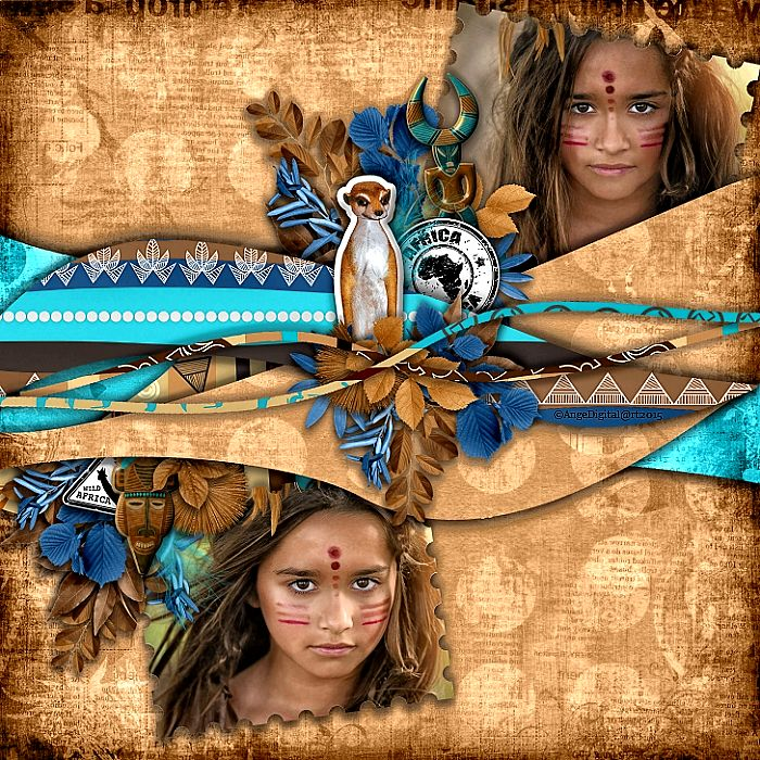 Africa by Kastagnette @..... http://digital-crea.fr/shop/index.php?main_page=index&cPath=155_318 Photo Frosted Productions  Use with Permissions Les templates de Desclics Pack 6 By Desclics Desclics Greder ©AngeDigital@rt2015 All Rights Reserved