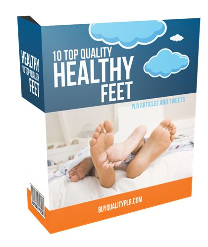 10 Top Quality Healthy Feet PLR Articles and Tweets - http://www.buyqualityplr.com/plr-store/10-top-quality-healthy-feet-plr-articles-tweets/.  #healthyfeet #footspa #feet #foottreatment #athletesfeet #toenailproblems #shoeshopping #howfeetchange 10 Top Quality Healthy Feet PLR Articles and Tweets In this PLR Content Pack You'll get 10 Top Quality Healthy Feet PLR Articles and Tweets with Private Label Rights to help you dominate the....