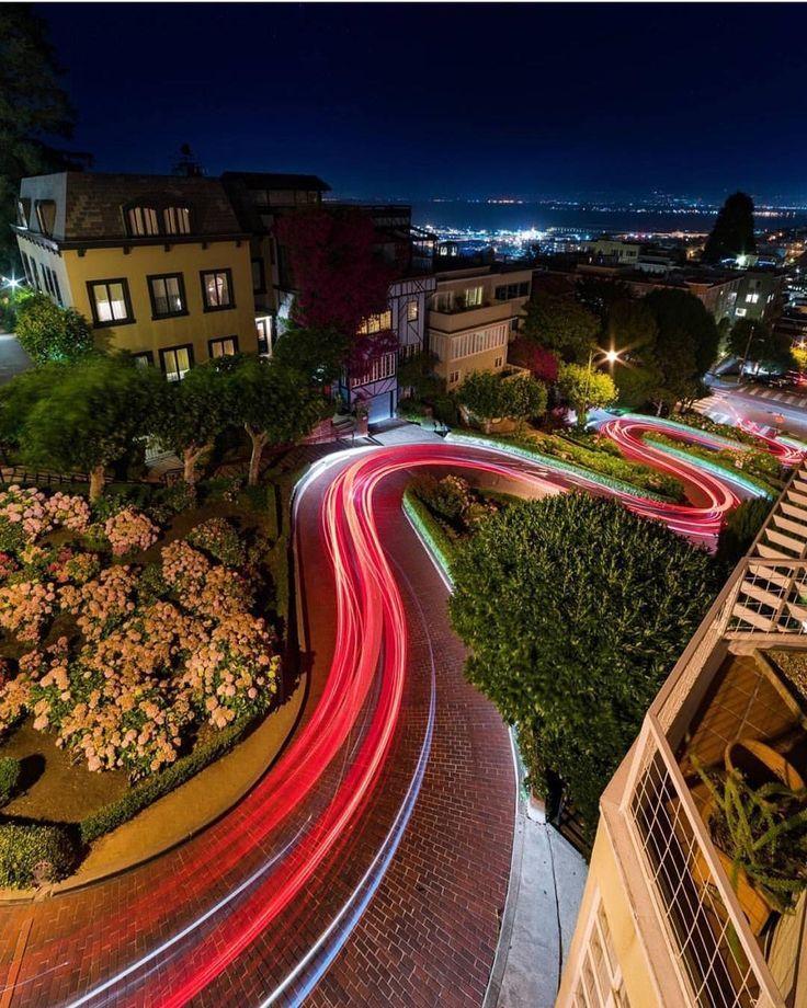 Lombard St San Francisco by Tyler sanfrancisco