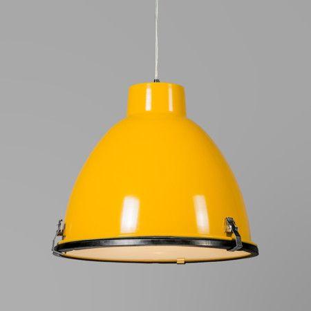 Lampa wisząca Anteros 38 żółta