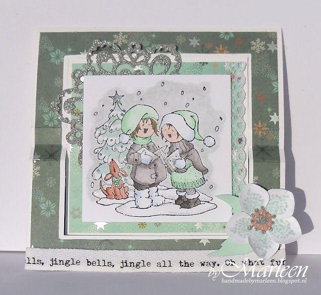 byMarleen | Vintage kerstkaarten | Pinterest | Winter ...