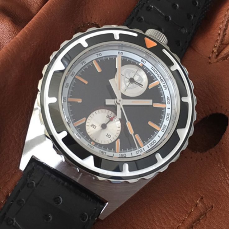 """Why Stuckx Watches Chose A Seiko Automatic Chronograph Over The Swiss ETA Valjoux 7750 Movement - see & read more on aBlogtoWatch.com """"We can promise you that starting up a micro watch brand is no walk in the park… you either use existing cases from one of many case manufacturers, put in a different dial and you are set to go and declare it as 'new' on Kickstarter. This is happening under your eyes right now. OR you go the elaborate route and truly design your own watch..."""""""