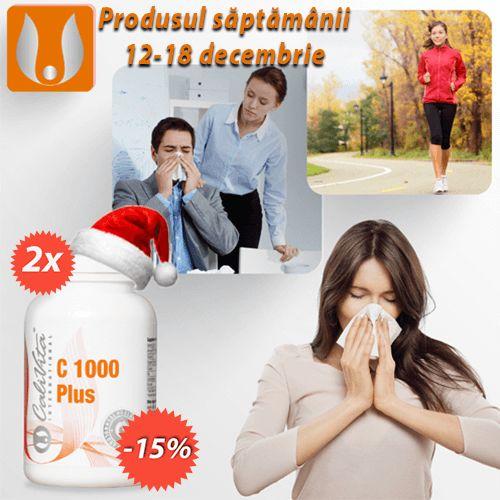 Pachet C1000 Plus 200 tablete / 1000 mg vitamina C  125 mg pulbere de macese organice >>http://buff.ly/1P2vfW0