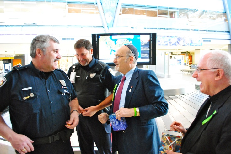 Spreading Kindness with some police officers