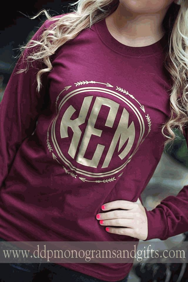 best 25  monogram shirts ideas only on pinterest