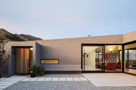 Courtyard House | Lake Hawea, South Island, New Zealand | Glamuzina Paterson Architects Ltd