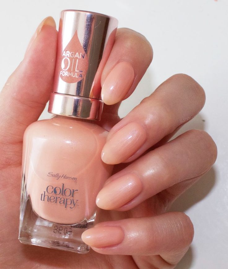 Sh Color Therapy Couple S Massage Shimmery Pastel Peach Sally Hansen Color Therapy Peach