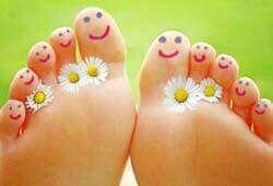 voeten-natuurlujk