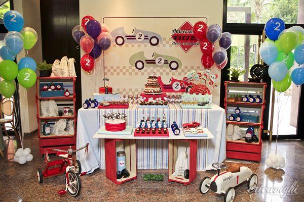 festa infantil carros vintage