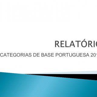 CATEGORIAS DE BASE PORTUGUESA 201   Início dos Trabalhos: Janeiro 2013 Fase da preparação e formação das equipes Juvenil e Infantil. Cada uma das catego. http://slidehot.com/resources/relatorio-das-categorias-de-base-da-a-a-portuguesa-2013.46765/