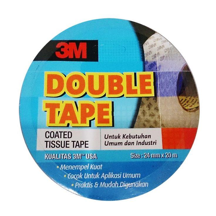 3M 9085 Double Coated Tissue Tape, size: 24 mm x 20 m - di Jual dg Harga Murah.  - Tissue tape ( sangat tipis ) untuk aplikasi Indoor Mounting and Joining yang ringan. - Menempel kuat dan tahan lama - Praktis dan mudah digunakan - Harga per roll.  http://tigaem.com/double-tape/2042-3m-9085-double-coated-tissue-tape-size-24-mm-x-20-m-di-jual-dg-harga-murah.html  #tissuetape #isolasi #3M