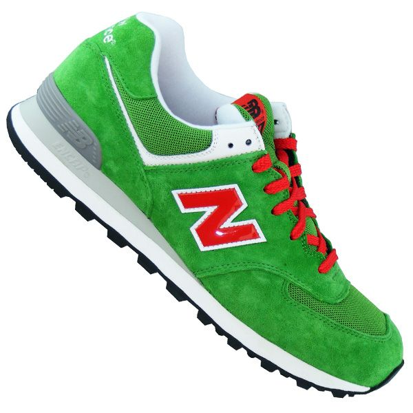New Balance Classics ML574 Green | New Balance ML574 UV Classics (green grey red)