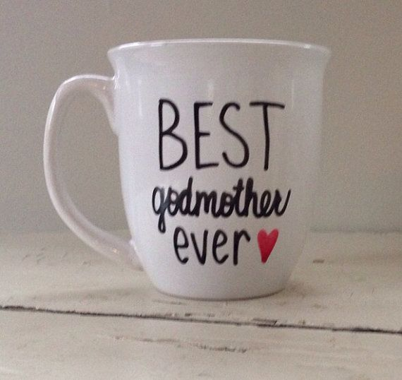 Best godmother ever godmother mug godmother by simplymadegreetings, $11.00