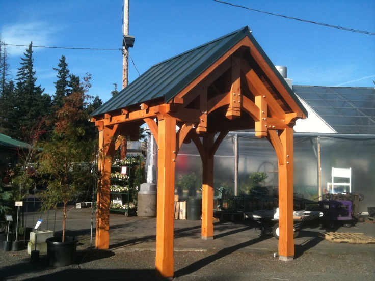 Do It Yourself Home Design: Timber Frame Pavilions
