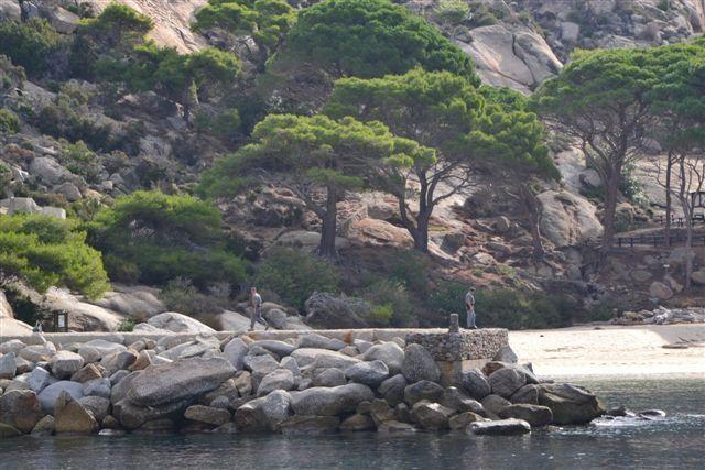 L'Isola di Montecristo... il porticciolo