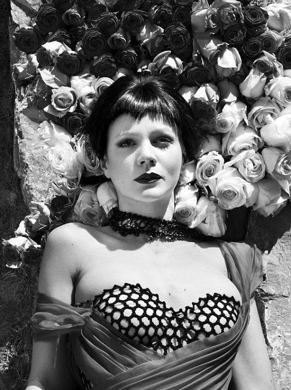 Carey Mulligan looked unique in vintage style | Di Nozze