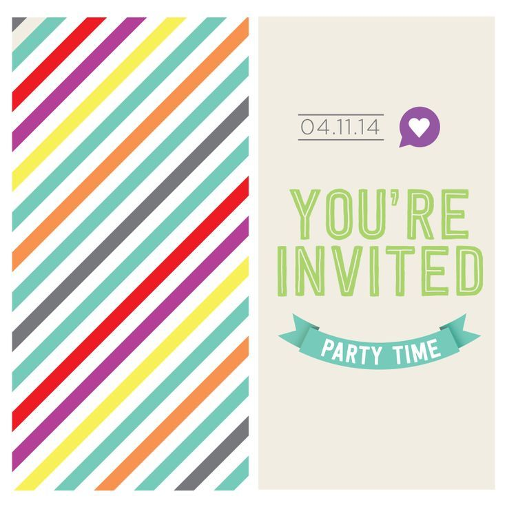 Get your guests excited for your party by sending an #invitation! #Invitations help set the tone of your event!