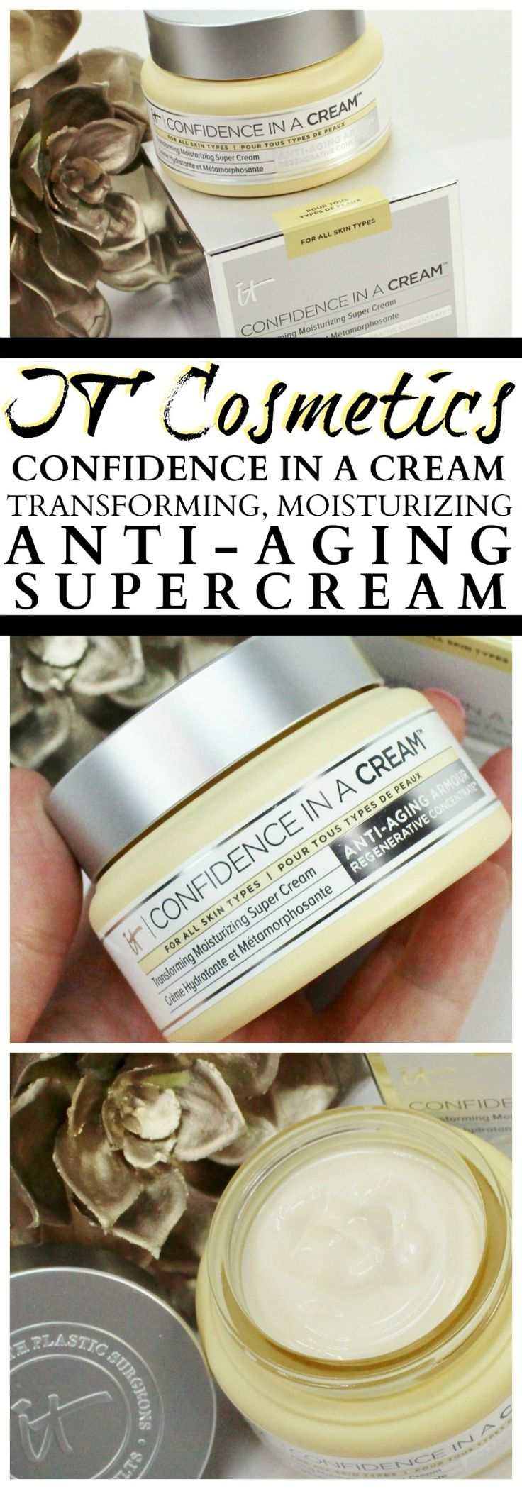IT Cosmetics Confidence in a Cream Skincare Review
