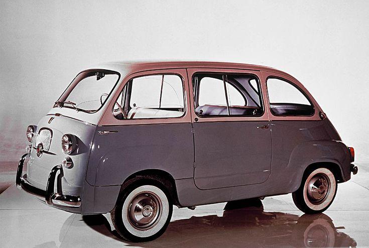 600 Multipla Designer Fiat  Anno 1955