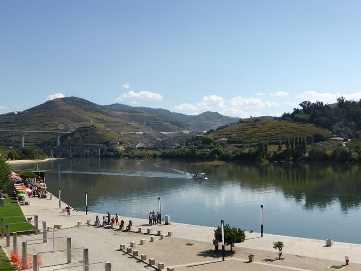 Peso da Régua and river Douro