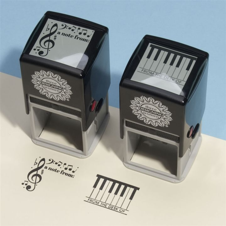 Piano Keys Self-Inking Stamp