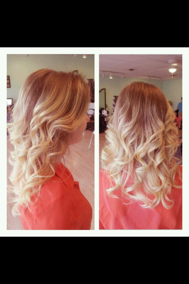 Light Brown To Blonde Ombre Hair And Beauty Pinterest