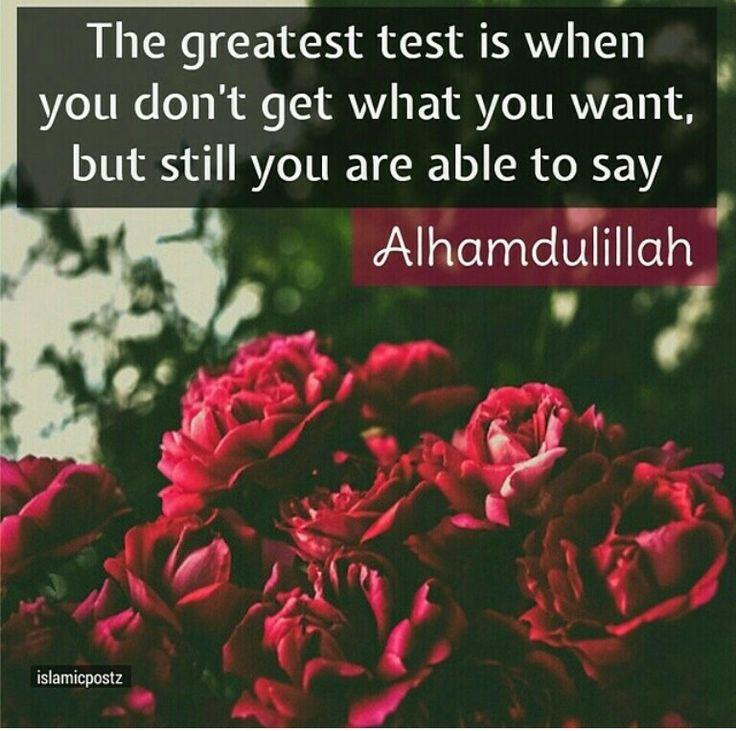 Yes... despite everything... Alhamdulillah!
