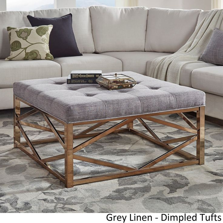 best 25 square ottoman coffee table ideas on pinterest tufted ottoman coffee table tufted. Black Bedroom Furniture Sets. Home Design Ideas