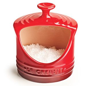 Great Gifts for Foodies: Le Creuset Stoneware Salt Crock | CookingLight.com