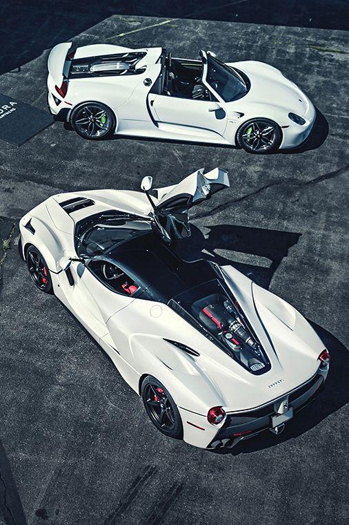 918 Spyder and LaFerrari.....