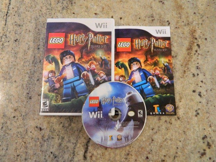 Pre Owned Nintendo Wii Lego Harry Potter Years 5 7 Includes The Disc Manual Case And Artwork The Disc Harry Potter Years Lego Harry Potter Game Codes